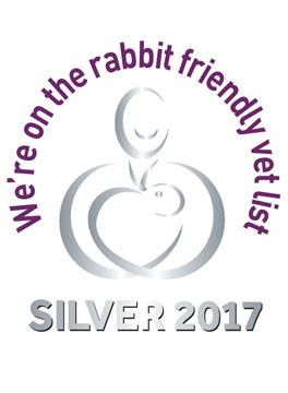 Rabbit Friendly Vet silver award